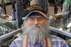 Mannequin man from the local pawn shop, Wild Trader's