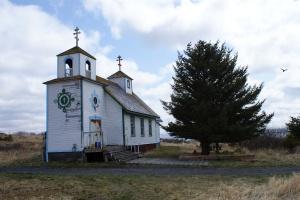 Akhiok's Russian Orthodox church
