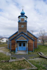 Old Harbor Russian Orthodox church