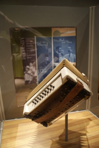 American music exhibit at the Alutiiq Museum