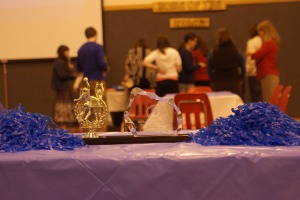 Awards ceremony at Port Lions School