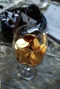 """Voting coins at a benefit """"chocolate lovers"""" fling"""