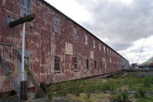 Building at the Icicle Seafoods cannery