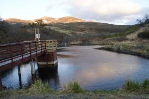 Larsen Bay's water reservoir