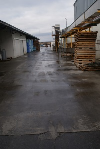 Walkway of the Alitak cannery