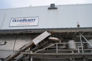 Alitak cannery, on Ocean Beauty Seafoods facility