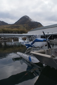 Floatplane at the Alitak cannery
