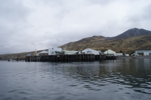 The Alitak cannery in Lazy Bay