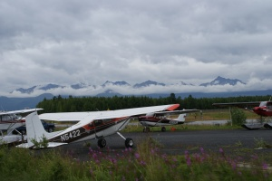 Floatplane, Bush plane area of Anchorage